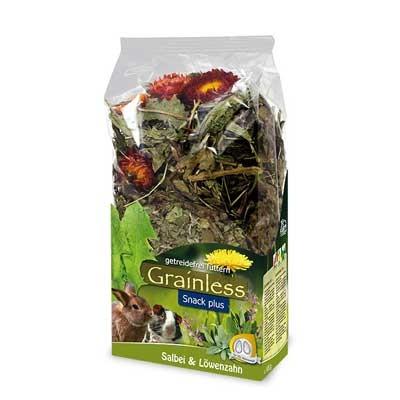 JR FARM Grainless Plus Diente de leon y Salvia para conejos y roedores