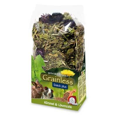 JR FARM Grainless Plus Diente de leon y comino para conejos y roedores