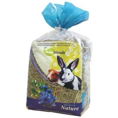 HomeFriends Heno de flores de aciano y abedul para conejos y roedores