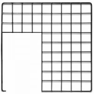 Cages Cubes Panel Grid Loft con puerta para Jaulas CyC