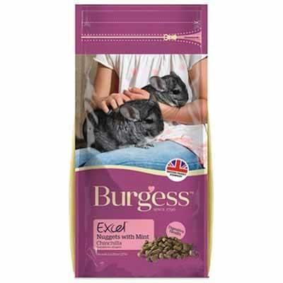 Burgess Excel Pienso con menta para chinchillas