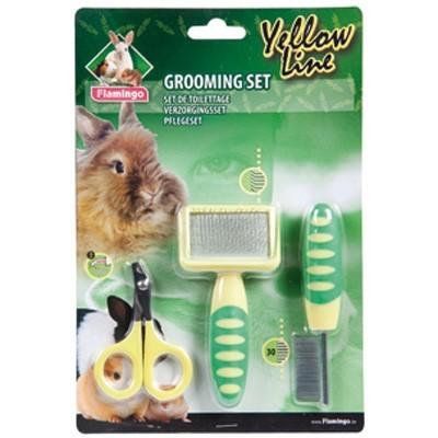 Karlie Kit de higiene con carda, peine y tijeras para roedores