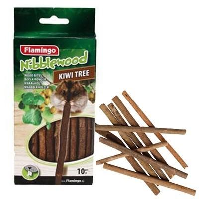 Karlie palo de madera de kiwi para roer para conejos
