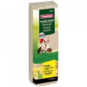 Flamingo Viruta natural Aroma limon para hamsters y roedores 14 L