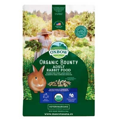 Oxbow - Pienso Ecologico Organic Bounty para conejos
