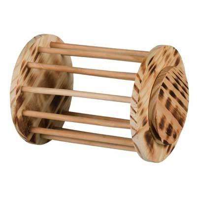 Trixie Henera Cilindrica de madera para conejos y cobayas