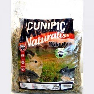 Cunipic Naturaliss Wild Hay Heno Ecologico 100% Natural para roedores 500 gr