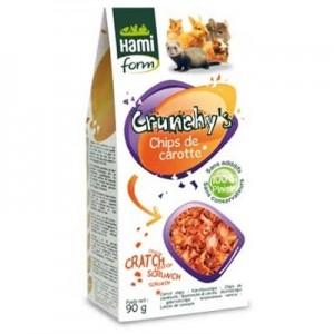 Hami Form Crunchy´s Chips de Zanahoria para roedores 90 gr