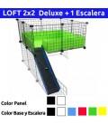 CagesCubes - LOFT Deluxe 2x2 con escalera
