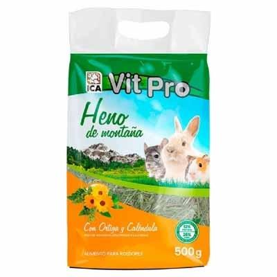 Vit Pro Heno con ortiga y calendula para conejos y roedores