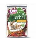 Lolopets vitaherbal snack de verduras para conejos y cobayas