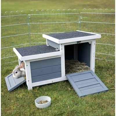 Trixie Casa Doble de exterior para conejos