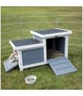 Trixie Casa Doble exterior para conejos