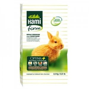 Hami Form Premium Optima Plus para Conejos 2.5 Kg
