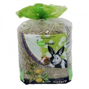HomeFriends Heno fresco con Ortigas y Calendula para roedores 500 gr