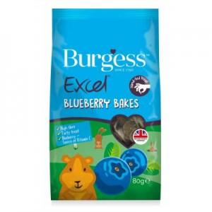 Burgess Excel snack de arandanos y hierbas para conejos y cobayas