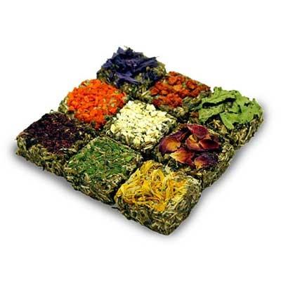 JR FARM Grainless Praline Tableta de Hierbas y Flores para roedores