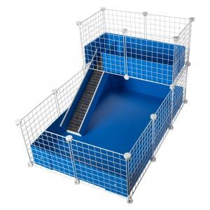 CagesCubes - Jaula CyC Deluxe 2X3 con Loft 2X1