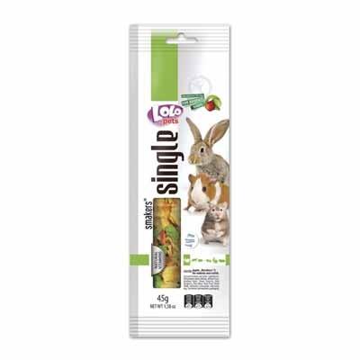 LoloPets snacks de barritas para conejos y roedores