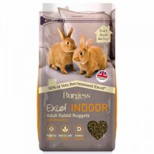Burgess Excel Pienso para conejos indoor adultos