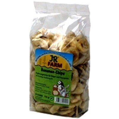 JR FARM Bocaditos de platano para roedores 150 gr