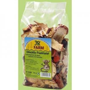 JR FARM Ensalada de frutas para chinchillas 125 gr.