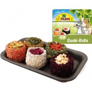 JR FARM tabla de Sushi rolls de vegetales, hierbas y flores para conejos y cobayas