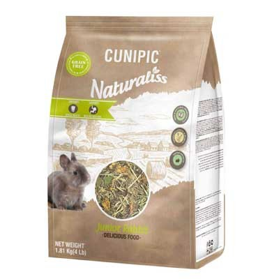 Cunipic alimentacion naturaliss conejo junior baby