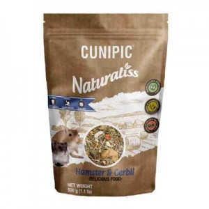 Cunipic Naturaliss Alimento para Hamsters y Gerbos 500 gr