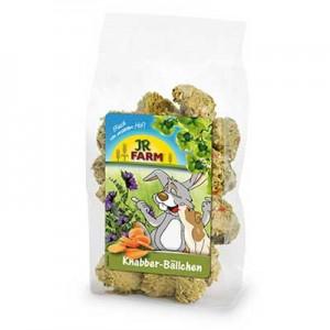 JR FARM Bolitas de Zanahoria y Alfalfa para roedores 150 gr