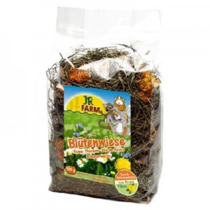 JR FARM Flores de la Pradera para roedores 100 gr