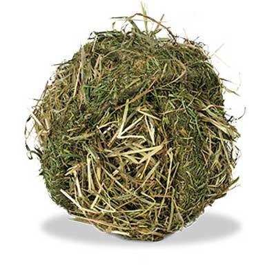JR FARM Bola de heno de prado para conejos y roedores