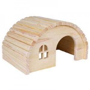 Trixie Casita con techo curvo para cobayas