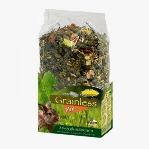 JR FARM Grainless Mix para Conejos Enanos 650 gr