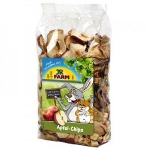 JR FARM Trocitos de manzana para roedores 80 gr