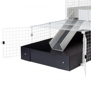 CagesCubes Kit Puertas Francesas para Jaulas CyC de cobayas y conejos