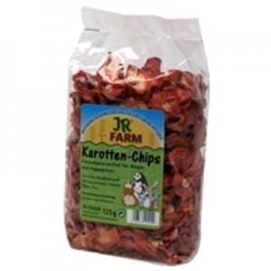 JR FARM Trocitos de Zanahoria para roedores 125 gr
