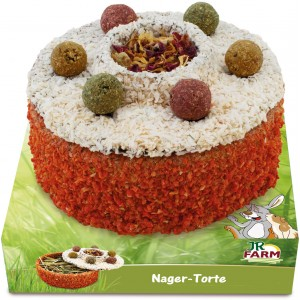 JR FARM Snack Tarta de hierbas y flores para roedores