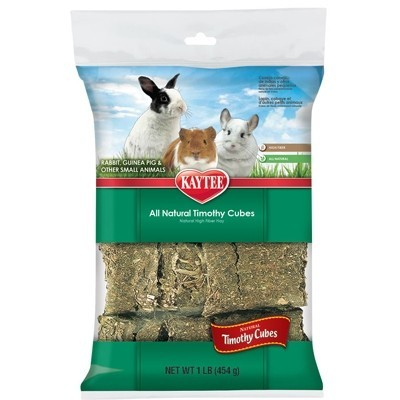 Kaytee Heno Timothy en porciones prensadas para roedores 454 gr