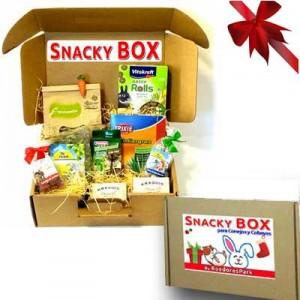 SNACKY BOX - Snacks y Premios Para Conejos y Cobayas