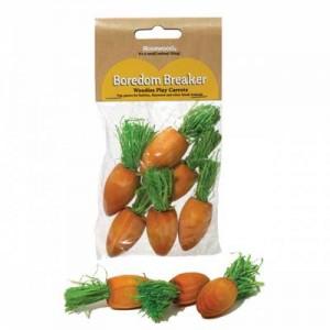 Rosewood mini zanahorias para roer conejos y cobayas