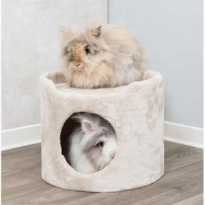 Trixie Torre Refugio de felpa para conejos y cobayas