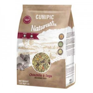 Cunipic Naturaliss Alimento para Chinchillas y Degus