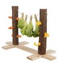 Trixie Arbol de comida Natural Livig Duo - 53 cms