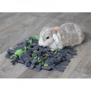 Trixe Alfombra para Olfatear juguete de inteligencia para conejos