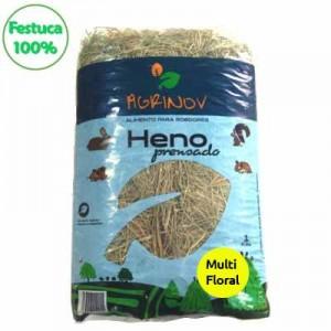Agrinov Heno de Festuca 100% MULTIFLORAL 500 grs + 500 grs