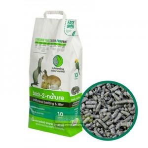 Back2Nature Lecho papel reciclado ecologico para roedores