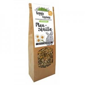 Veggie Toppings Manzanilla 45 gr para conejos y roedores