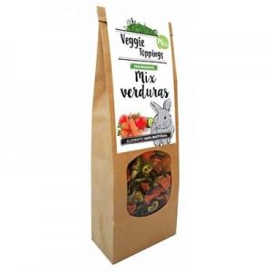Veggie Toppings Mix de Verduras 125 gr para conejos y roedores