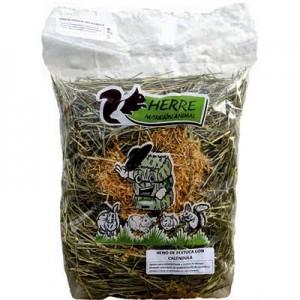 HERRE Nutricion - Heno de Festuca con Calendula 500 grs para conejos y cobayas